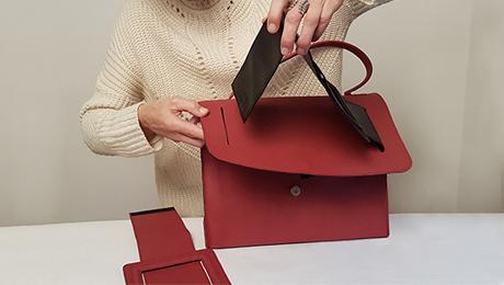 Eine Handtasche – unzählige Möglichkeiten …