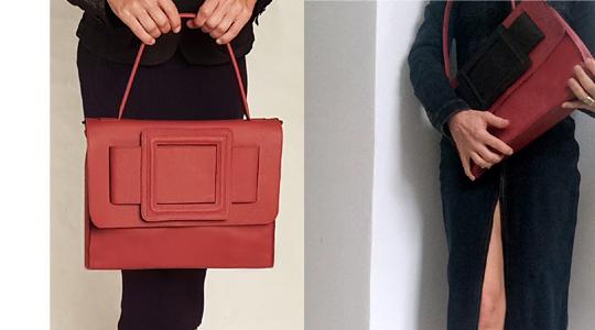 Die rote Handtasche im Winter – so kombiniere ich den Eyecatcher!